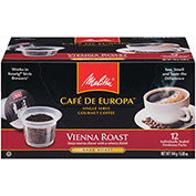 Melitta 75751 - Coffee, Single Serve, Vienna Roast, 72 Capsules/Case