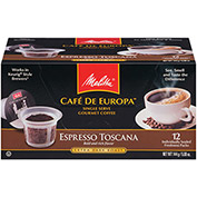 Melitta 75752 - Coffee, Single Serve, Espresso, 72 Capsules/Case