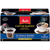 Melitta 75753 - Coffee, Single Serve, Blanc et Noir, 72 Capsules/Case