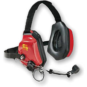 Motorola Double Muff Headset For Hard Hat Use, Noise Cancelling, Push To Talk, ET-XTRM-HD