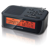 Motorola Easy to Use Desktop Weather Alert Radio - MWR815