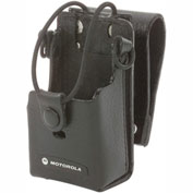 "Motorola Leather Case with 3"" Swivel for RDX"