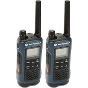 Motorola Talkabout® T460 Two-Way Radios, Blue/Black - 2 Pack