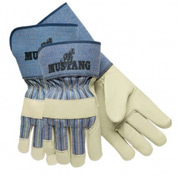 Grain Leather Palm Gloves, Memphis Glove 1936l, 12-Pair