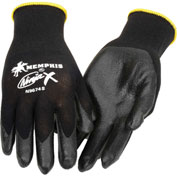 Ninja X Bi-Polymer Coated Palm Gloves, Memphis Glove N9674m, 1-Pair