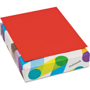 "Colored Paper - Mohawk 471608 - Red - 8-1/2"" x 11"" - 500 Sheets"