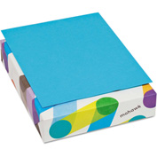 "Colored Paper - Mohawk 472208 - 8-1/2"" x 11"" - Blue - 500 Sheets/Ream"