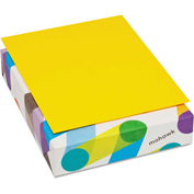 "Colored Paper - Mohawk 472808 - Sun Yellow - 8-1/2"" x 11"" - 500 Sheets"
