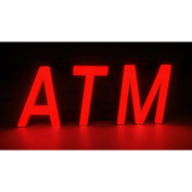"Mystiglo ATM LED Sign - 14""W x 5""H"