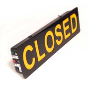 "Mystiglo Closed LED Sign - 15""W x 5""H"