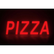 "Mystiglo Pizza LED Sign - 19""W x 5""H"
