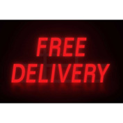 "Mystiglo Free Delivery LED Sign - 28-1/2""W x 14""H"