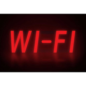 "Mystiglo Wi-Fi LED Sign - 17""W x 5""H"