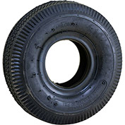 "Marathon Pneumatic Tire & Tube 20501 - 4.10/3.50-4 Sawtooth Tread - 10.5"" x 3.6"""