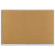 "Marsh Cork Natural Cork Board, 72""W x 48""H"