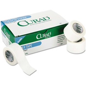 "Curad® Paper Adhesive Tape, 1"" x 10 yds, White, 12/Pack"