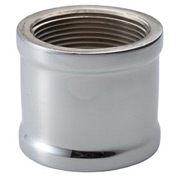 Chrome Plated Brass Pipe Fitting 1/2 Coupling Npt Female - Pkg Qty 25