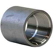 1/2 In. 304 Stainless Steel Coupling - FNPT - Class 150 - 300 PSI - Import