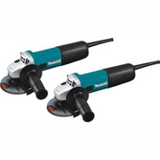 "Makita® 9557NB2, 4-1/2"" Angle Grinder, with AC/DC Switch, 2/pk"