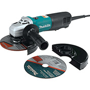 "Makita 9566PCX1 6"" SJS HighPower Paddle Switch Cut-Off Angle Grinder Extra Cut-Off Wheel & Guard"