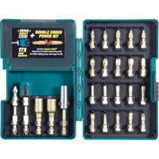 Makita® B-46919, Impact GOLD 26 Pc. Torsion Bit Set