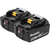 Makita® BL1850B-2 18V LXT Lithium-Ion Battery (5.0 Ah), 2/pk