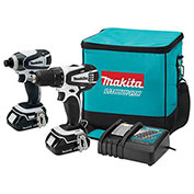 Makita® CT200RW 18V 2-Pc. LXT Compact Kit (XFD01 XDT04) 2.0AH