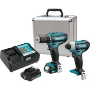 Makita® CT226RX, 12V Max CXT™ Lithium-Ion Cordless 2-Pc. Combo Kit, 2.0Ah
