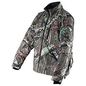 Makita® DCJ201ZL 18V LXT Lithium-Ion Mossy Oak Heated Jacket (Jacket Only). camo. large