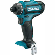 "Makita® FD06Z 12V 1/4"" Hex Driver-Drill (tool only)"