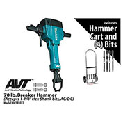 Makita® HM1810X3 70 lb. Breaker Hammer Power Pack