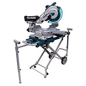 """Makita® LS1016LX5 10"""" Dual Slide Compound Miter Saw with Laser and Stand"""