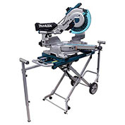 "Makita® LS1216LX4 12"" Dual Slide Compound Miter Saw with Laser and Stand"