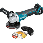 "Makita XAG06Z 18V LXT® Brushless Cordless 4-1/2"" Paddle Switch Cut-Off/Angle Grinder, Tool Only"