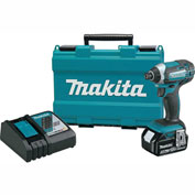 Makita® XDT111, 18V LXT® Lithium-Ion Cordless Impact Driver Kit, 3.0Ah