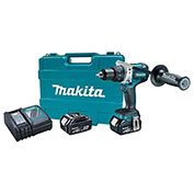 Makita XFD07MB 18V LXT Brushless Lithium-Ion 1/2 in. Cordless Driver Drill Kit, 4.0Ah