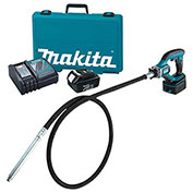 Makita® XRV02 18V LXT® Lithium-Ion Cordless 8 Ft. Concrete Vibrator Kit