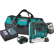 "Makita® XTS01 18V LXT® Lithium-Ion Cordless 3/8"" Crown Stapler Kit"