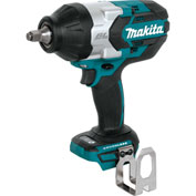 "Makita XWT08Z, 18V LXT Brushless Cordless High Torque 1/2"" Impact Wrench, Tool Only"