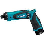 "Makita DF012DSE, 7.2v Lithium-Ion Cordless 1/4"" Hex Driver-Drill Kit w/ Auto-Stop Clutch"
