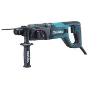 "Makita HR2475, 1"" D - Handle Rotary Hammer (3-Mode, SDS-Plus)"