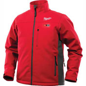 Milwaukee® 201R-212XL M12™ Heated Jacket Kit - Red/Gray - 2XL