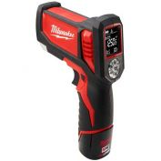 Milwaukee® 2277-21NST M12™ Laser TEMP-GUN™ Cordless Thermometer Kit
