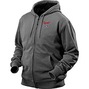 Milwaukee® 2369-2X M12™ Cordless Gray Heated Hoodie Kit - 2XL
