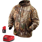 Milwaukee® 2383-L M12™ Cordless Realtree Xtra® Camo Heated Hoodie Kit - L