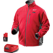 Milwaukee® 2391-3X M12™ Cordless Red Heated Jacket Kit - 3X