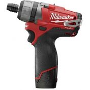 "Milwaukee 2402-22 M12 FUEL 1/4"" Hex 2-Speed Screwdriver Kit"