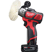 Milwaukee® 2438-22X M12™ Variable Speed Polisher/Sander - Xc/Cp Kit