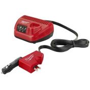 Milwaukee® 2510-20 M12™ 12V Li-Ion AC/DC Wall & Vehicle Charger