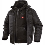Milwaukee® 251B-202XL M12™ Heated 3-in-1 Jacket Only - Black - 2XL